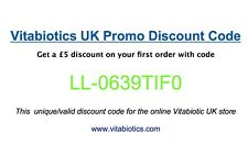 Vitabiotics UK Promo Discount Code - get a £5 discount on your first order