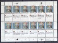 UNO Genf 1990 postfrisch MiNr. 192-193  Bogensatz  Menschenrechte