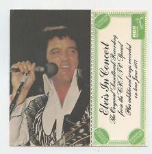 Rare Elvis Presley Reservation Certificate - Elvis in Concert