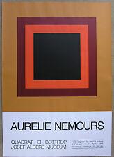 Josef Albers Museum, Quadrat Bottrop# AURELLE NEMOURS # orig. silkscreen, 1996