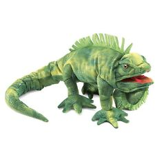 Iguana Lizard Puppet with Movable Mouth & Legs, MPN 2258, Boys & Girls