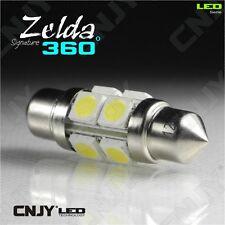 1 AMPOULE LED AUTO NAVETTE C5W 39mm 360° BIPOLAIRE ZELDA SMD 5050 -AUTO-REMORQUE