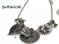 Premier Designs Jewelry Botanical floral flower statement Necklace