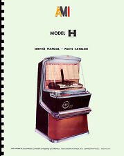 MANUALE COMPLETO (manual) JUKEBOX AMI H (All H models) (juke box)