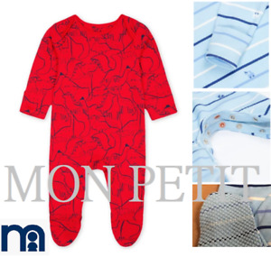 Baby boy sleepsuit babygrow romper outfit MOTHERCARE 0 - 24 m red dinosaur blue