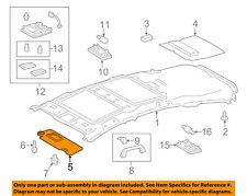 TOYOTA OEM 12-17 Prius V Sunvisor-Sun Visor Left 7432047282B1