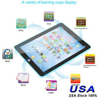 Tablet Pad Computer For 1-6Years Kid Toddler Learning Educational Teach Toy Gift