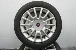 2009 FIAT BRAVO MK2 2007-2014 ALLOY WHEEL 16 INCH WITH 205 55R 16 TYRE 4.20MM