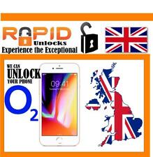 FOR IPHONE 8 AND IPHONE 8 PLUS FOR O2 UNLOCKING SERVICE FAST 1 - 5 DAYS SERVICE