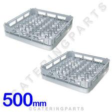 2 x GENUINE CLASSEQ / CLASSIC 500mm x 500mm PLATE RACK DISHWASHER BASKETS 700DRP