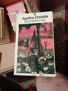 Agatha Christie-Dead Mans Folly-1980-9th-print,Sml-P/B,See Des.BUY IT NOW.