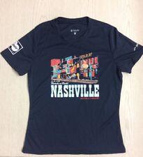 2017 St. Jude's Rock N Roll Nashville Marathon And 1/2 Marathon Women's Med Tee