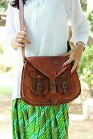 Rustic Messenger Women Tote Leather Purse Crossbody Satchel Shoulder Handbag New