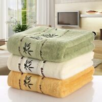 Bamboo Fiber Towels Set Home Bath Towels for Adults Face Towel Thick Absorbent/*