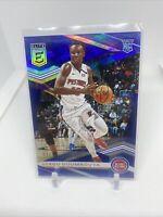 SEKOU DOUMBOUYA 2019-20 Panini Elite Rookie Blue #'d 09/99 Pistons RC No. 142🔥