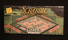VINTAGE SCRABBLE GOLF EDITION BOARD GAME WOOD TILES NEVER USED