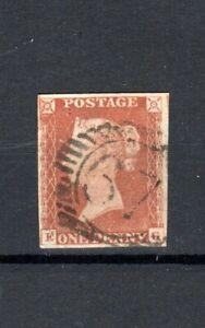 GB 1841 1d orange-brown plate 119 EG FU