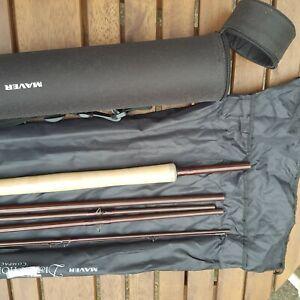Fliegenrute gebraucht, Zweihand, Lachs, Meerforelle 13 fuss, Schnurklasse 8-9
