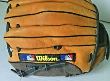 """Wilson Baseball Glove A1825 Leather Mitts Size 11"""" Pro Crown Web Youth RHT Game"""