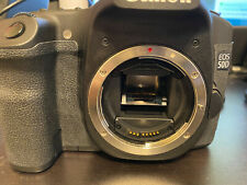 CLEAN! Canon EOS 50D 15.1MP Digital SLR Camera - Body Only - LOW LOW SHUTTER