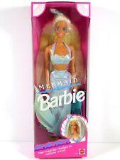 * Nib Barbie Doll 1991 Color Changing Mermaid 1434 Box 1