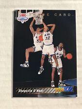 1992-93 UPPER DECK NBA DRAFT SHAQUILLE O'NEAL ROOKIE CARD #1b MAGIC