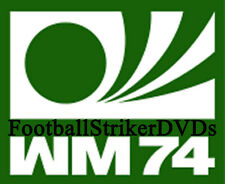 1974 Fifa World Cup Group 4 Argentina vs Haiti Dvd