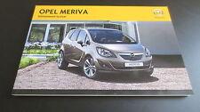 Opel Meriva B información sistema Navi 600 900 CD 300 400 manual de instrucciones de 2012