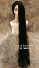 "40"" Long Cher Wig Wigs Off Black Skin top Straight GOV 1B"
