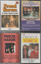 Procol Harum Lot De 4 K7 Cassettes AudioTape