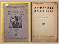 Florstedt Germanische Göttersagen Heft 5 Beiheft Wägen und Wirken 1925 Märchen