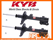 FRONT KYB SHOCK ABSORBERS FOR TOYOTA COROLLA AE112 AE112R 10/1998-11/2001