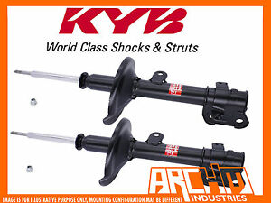 FRONT KYB SHOCK ABSORBERS FOR TOYOTA COROLLA ZRE152R 05/2007-ON