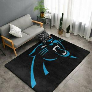 Carolina Panthers Area Rug Fluffy Floor Mat Living Room Modern Anti-Slip Carpet