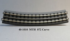 MTH TRACK REAL TRAX 072 CURVE TRACK SECTIONS train fast with roadbed 40-1010 NEW