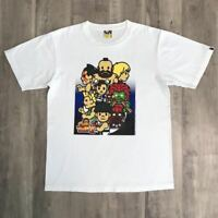 A BATHING APE BAPE x CAPCOM STREET FIGHTER 2 TEE T-Shirt Size M Extremely Rare