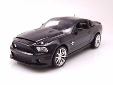 Ford Shelby Mustang GT 500 Super Snake 2010 schwarz, Modellauto 1:18 / Shelby