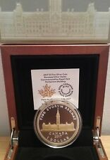 2017 Parliament Canada Peace Tower 2OZ Silver Renewed Dollar Coin: Royal Visit