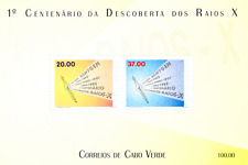 Cabo Verde - 1995 - The 100th Anniversary of Discovery of X-Rays