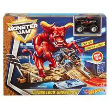 New Monster Jam El Toro Loco Showdown Playset From Hot Wheels
