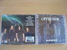 Oppressor-Agony (1996 mia 1st USA PRESS) Gorefest, Gorguts, Napalm Death, pyrexia