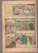 LISETTE 1939 .N°42.AU DOS JACKIE. TEXTES ET DESSINS DE GEORGES BOURDIN  BE