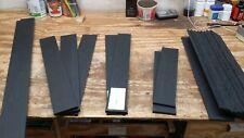 Jet Black Richlite Classical Guitar Fingerboard Luthier Material