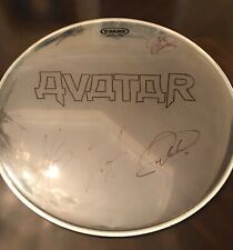Avatar Metal Band Autographed Drum Head Selling My Collection!