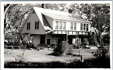 RPPC  WOODWARD?, Oklahoma  OK   COMMANDER WEYER'S Home 1947 ? Postcard