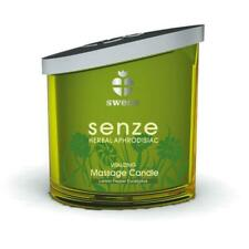 Senze Massage Candle 150 ml Vitalizing, Massagekerze, Lemon, Pepper; Eucalyptus