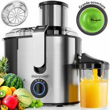 Centrifugeuse En Inox Fruits Et Légumes - Extracteur De Jus de fruit frais