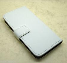Véritable Portefeuille en Cuir pied Coque pour Samsung Galaxy S4 & S5 Noir S3 I9300