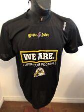 MENS MEDIUM REEBOK Football T-Shirt CFL HAMILTON TIGER CATS