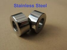 83-4210, F14210, TRIUMPH TR5, REAR ENGINE MOUNTING SPACER, PAIR, STAINLESS STEEL